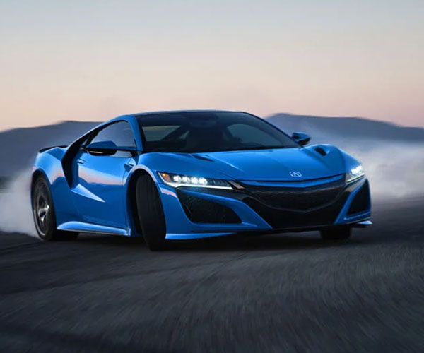 The 2021 Acura NSX Looks Fantastic in Long Beach Blue Pearl