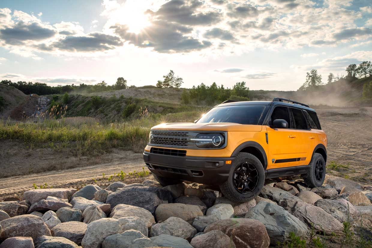 2021 Ford Bronco Sport Is Good for 25 MPG in the City