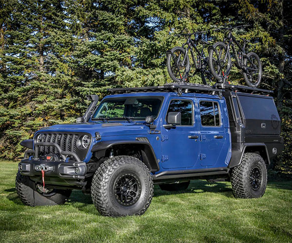Jeep Gladiator Top Dog Concept Takes Mountain Bikers Anywhere