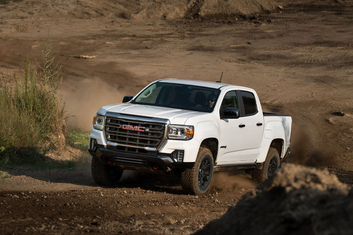 2021 GMC Canyon AT4 Off-Road Performance Edition Goes on Sale This Year