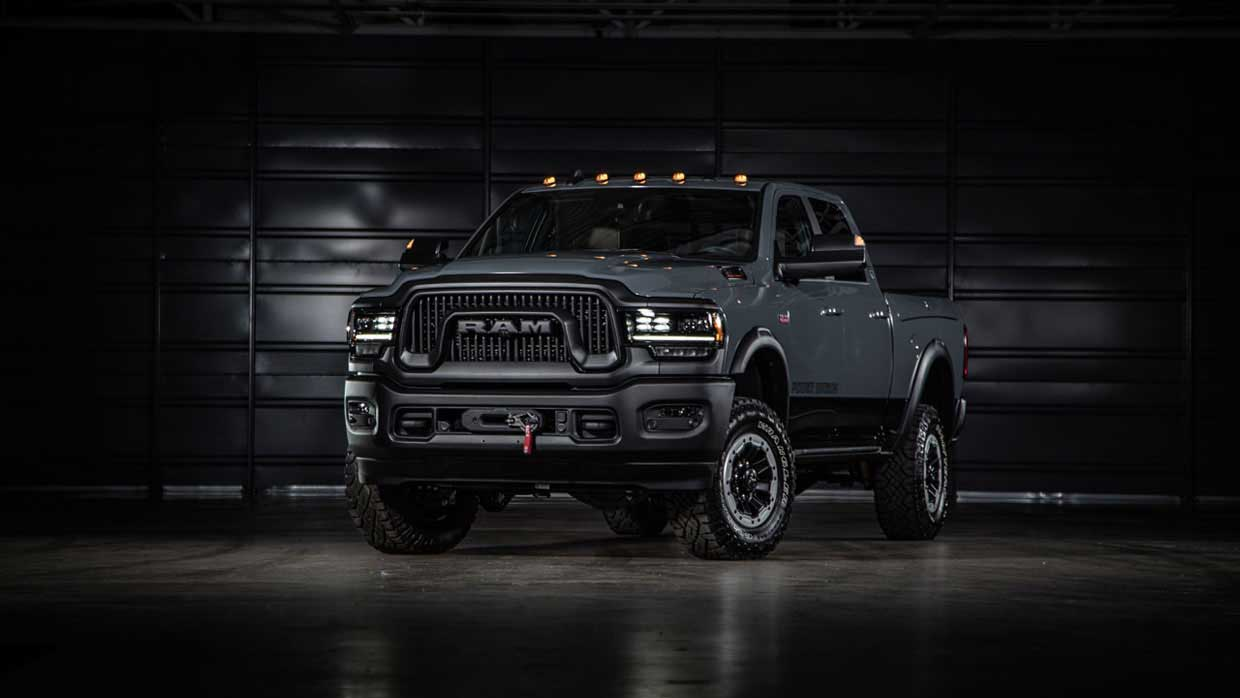 2021 Ram Power Wagon 75th Anniversary Edition Is One Big, Fancy Truck