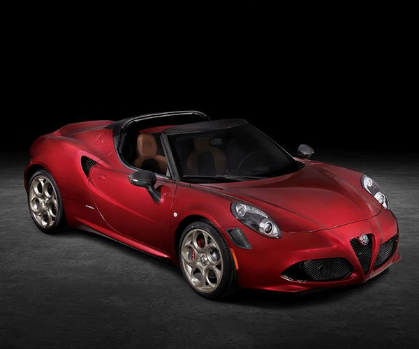 Alfa Romeo 4C Spider 33 Stradale Tributo Is the Last Hurrah for North America