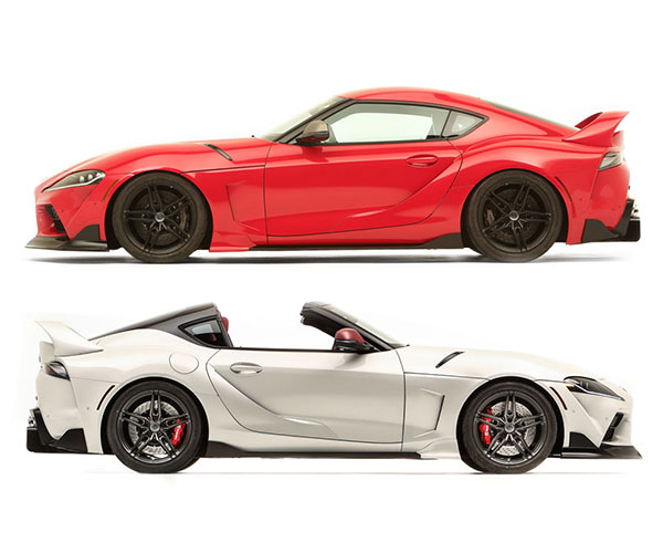 2021 Toyota GR Supra Sport Top Is a Sexy 90s Throwback