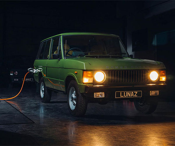 Lunaz is Now Building Electrified Classic Range Rover SUVs