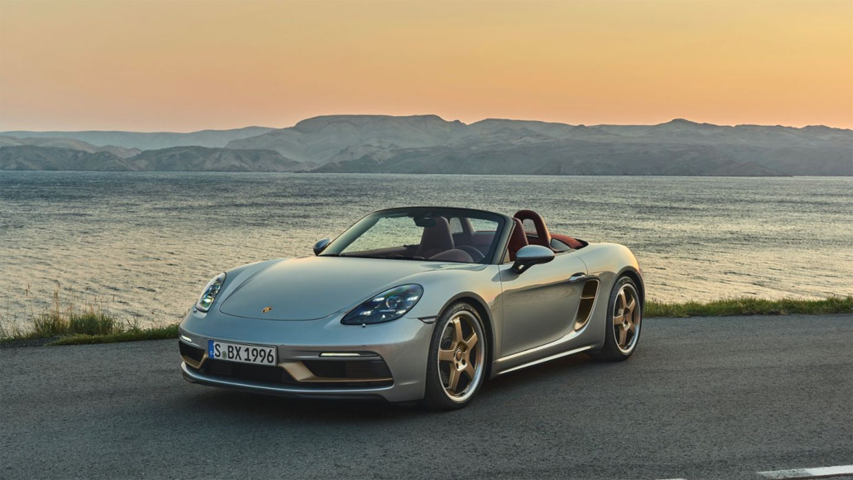 Porsche Celebrates 25 Years of the Boxster with Limited-edition Boxster 25 Years