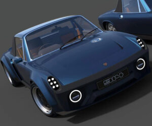 Fifteen Eleven Design Working on a Gorgeous Porsche 914/Cayman S Mashup