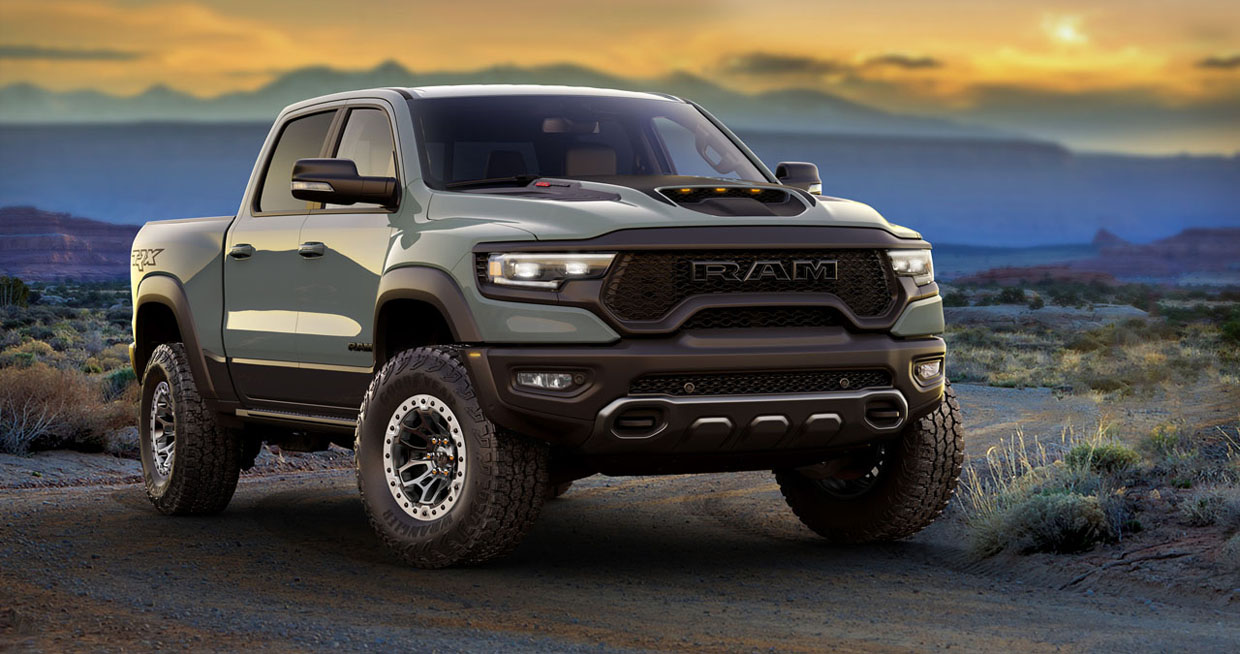 Here's Your Chance to Own 2021 Ram 1500 TRX Launch Edition VIN 001