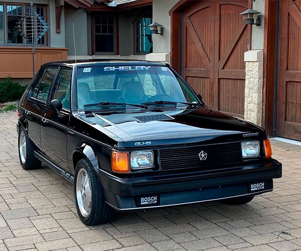 This 1986 Dodge Shelby Omni GLHS Belonged to Carroll Shelby