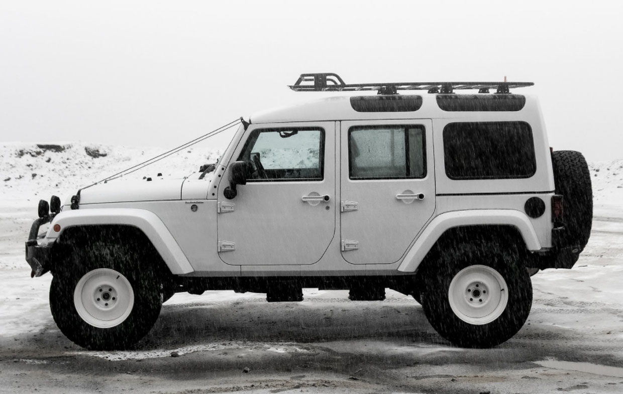 True North Wrangler: If a Jeep and a Land Rover Defender Had a Baby