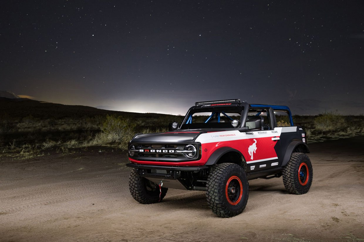 Ford Performance Bronco 4600 Racing in the ULTRA4 Stock Class