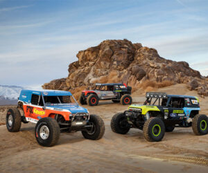 Ford Shows Off Bronco Ultra4 4400 Unlimited Class Desert Racing Trucks