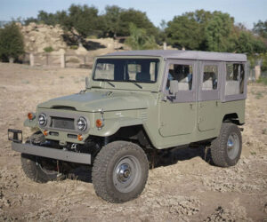 ICON Old School Edition FJ44 Land Cruiser Packs an LS V8