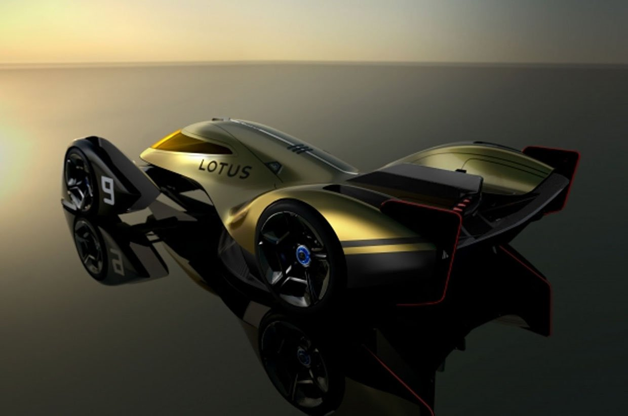 Wicked Lotus E-R9 Electric Endurance Racing Concept Has Morphing Body Panels