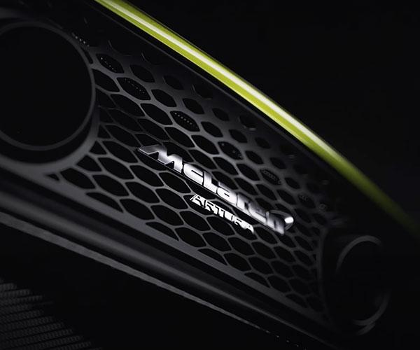 McLaren Teases Artura Hybrid Supercar