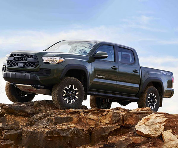 Toyota Tacoma TRD Factory Lift Kit is the Only Lift Validated for Toyota Safety Sense