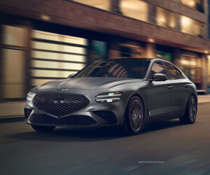 Genesis G70 Launch Edition Comes in Matte Paint Colors