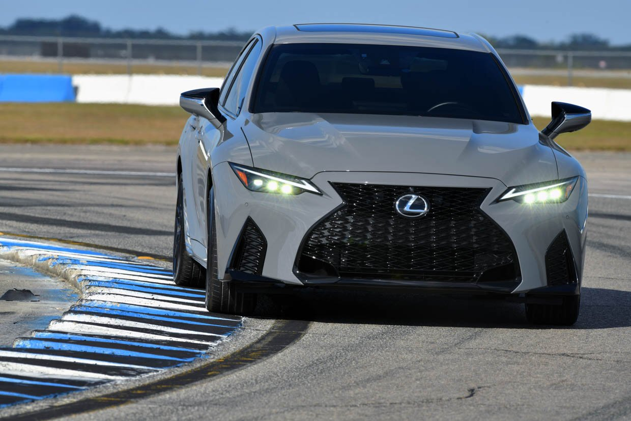2022 IS 500 F Sport Performance Launch Edition Brings Style and V8 Power