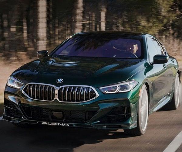 2022 BMW Alpina B8 Gran Coupe Packs a 612 Horsepower V8