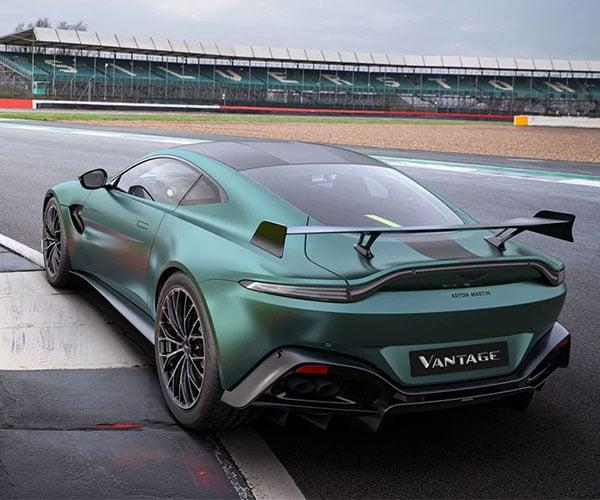 Aston Martin Vantage F1 Edition Is the Most Powerful Vantage Yet