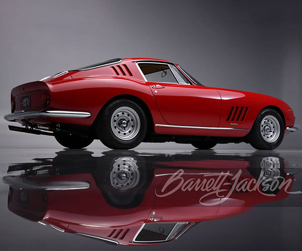 Flawless and Numbers Matching 1967 Ferrari 275 GTB/4 to be Auctioned Off