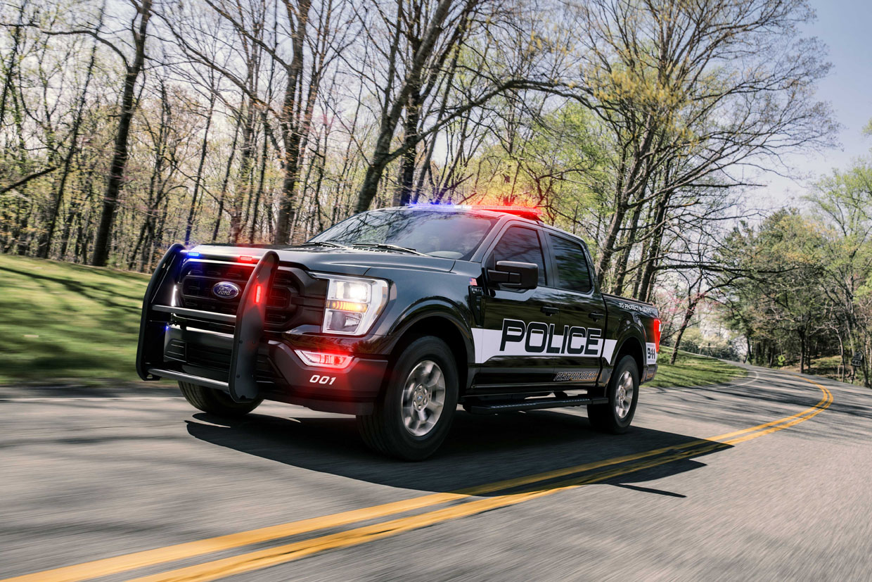 2021 Ford F-150 Police Responder Makes The Man Faster on All Terrain