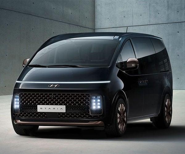 Hyundai STARIA is a Minivan We Would Totally Drive
