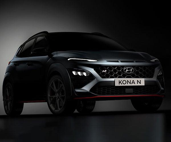 Hyundai Kona N Teased: KONA N The Barbarian