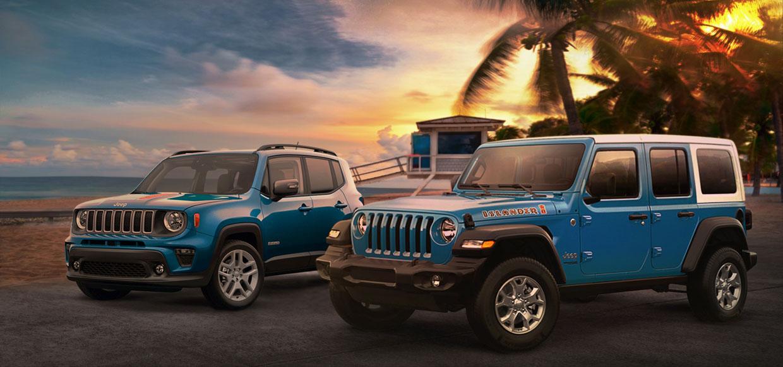 Jeep Wrangler Islander Returns, Joined by a Renegade Islander