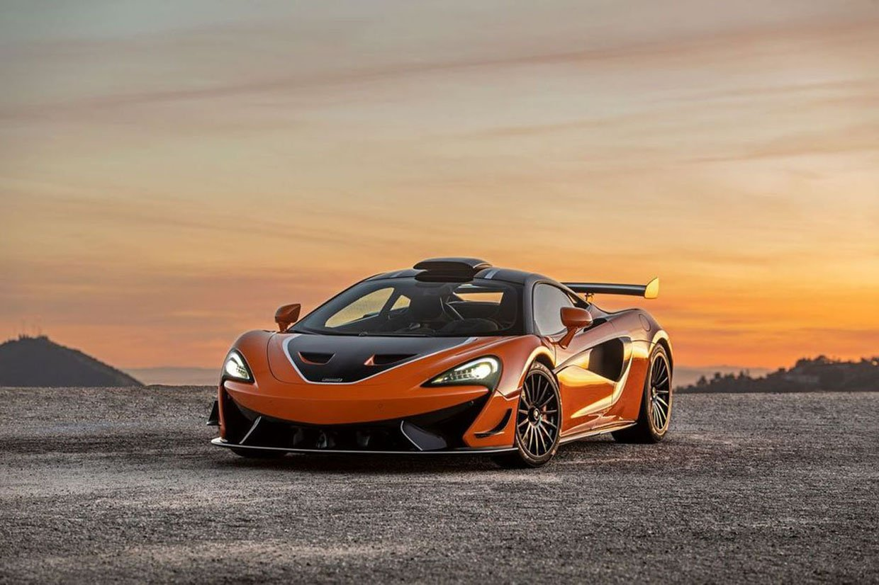 McLaren 620R Sports Series Rides off Into the Sunset