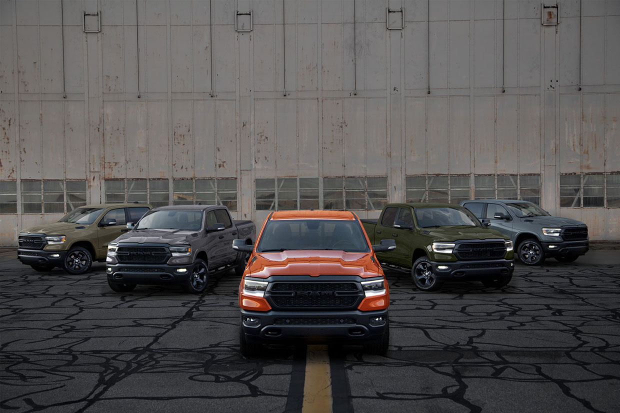 "Ram Wraps Up Its ""Built to Serve"" Limited-Edition Pickup Series"