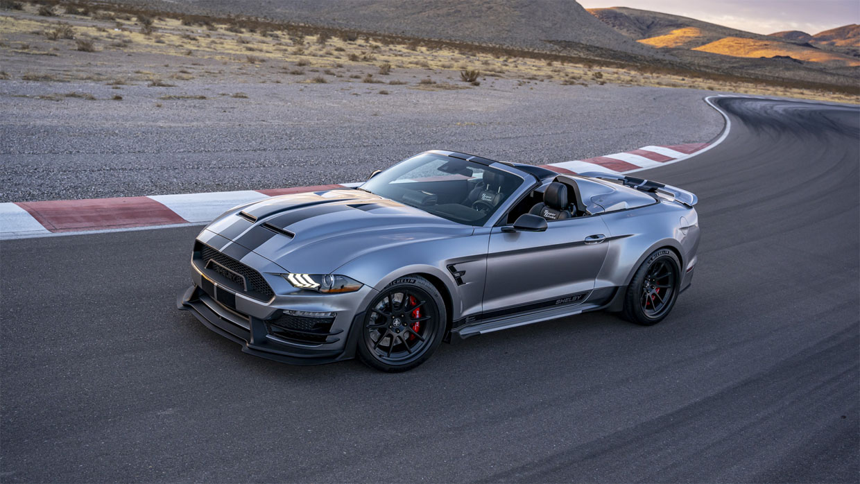 Shelby Unveils the Super Snake Speedster – a Mustang Roadster