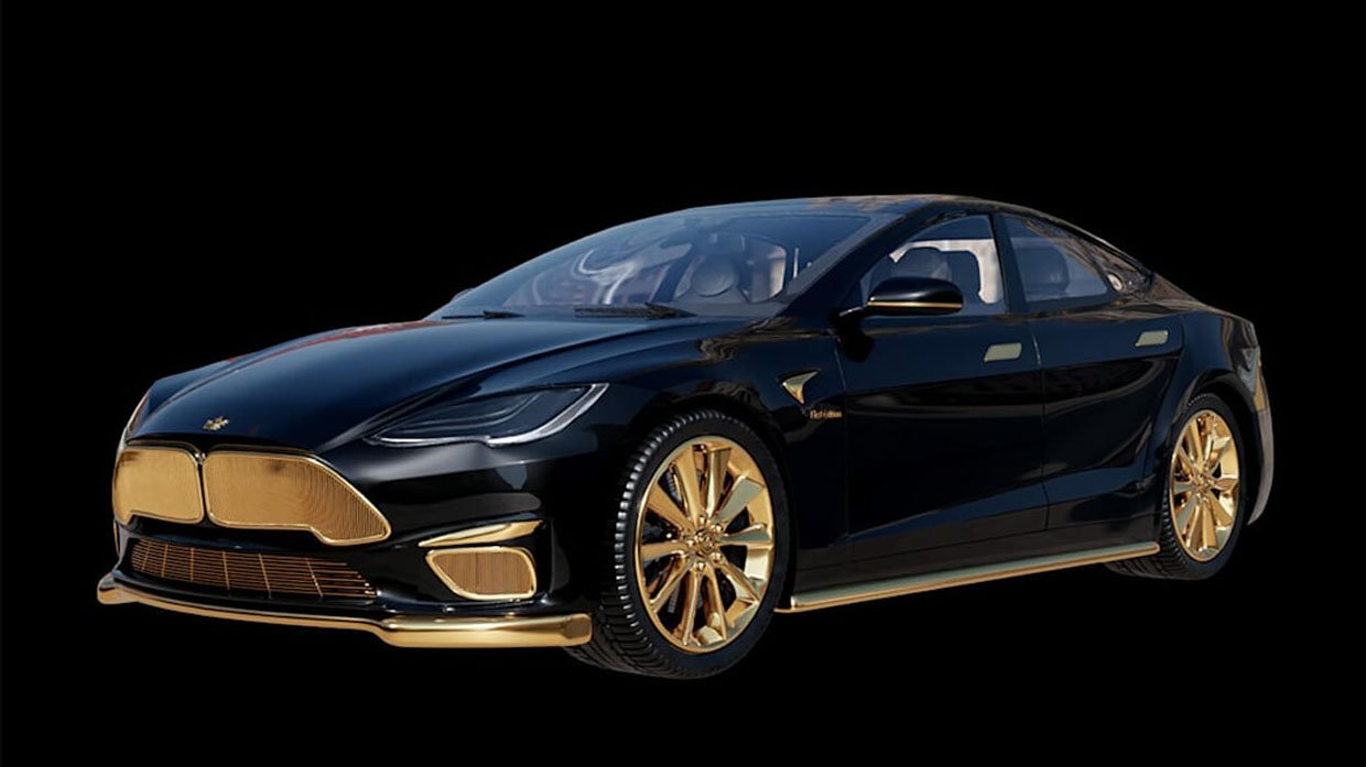 Tesla Model Excellence 24K is Hideously Expensive