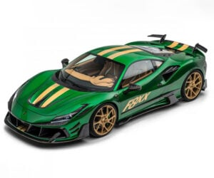 Mansory F8XX is a Completely Customized Ferrari F8 Tributo