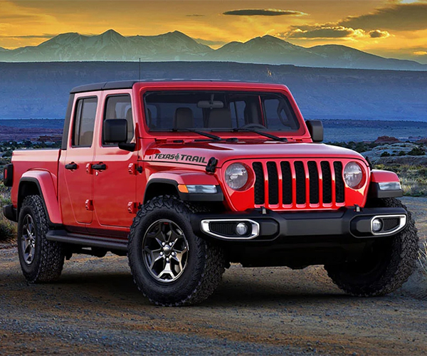 Jeep Gladiator Texas Trail Edition Celebrates the Country's Biggest Truck Market