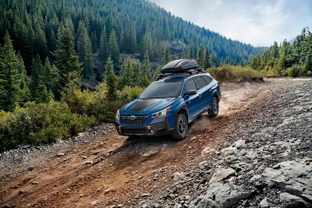 2022 Subaru Outback Wilderness Offers 9.5-inches of Ground Clearance