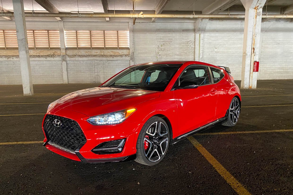 2021 Hyundai Veloster N DCT Review: Power to the People