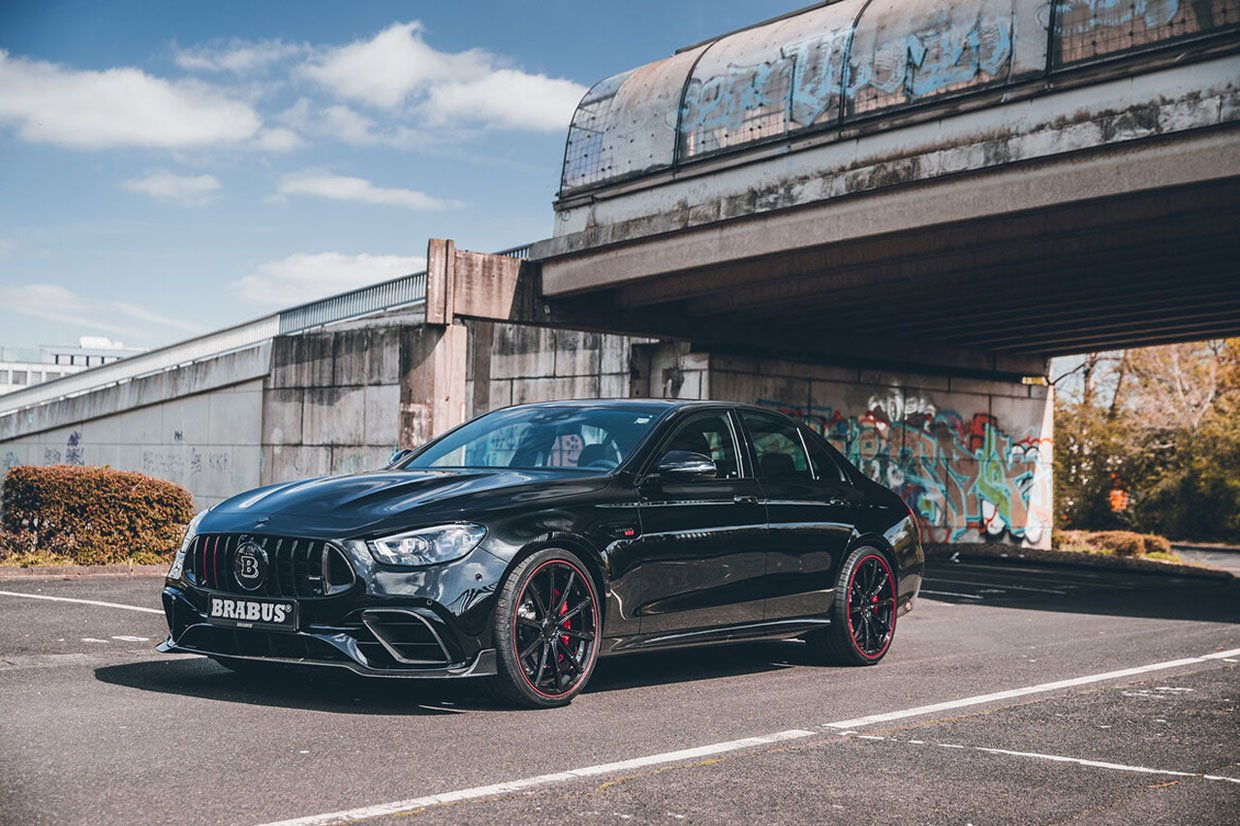 Brabus 800 Squeezes More Power from the 2021 Mercedes-AMG E 63 S
