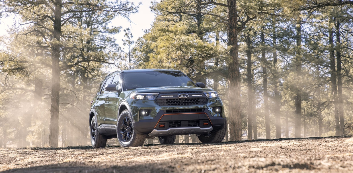Ford Explorer Timberline is the Most Capable Explorer Yet