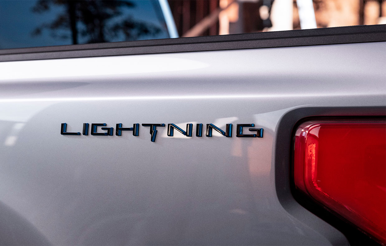 """The Electric Ford F-150 Has a Name, and It's """"Lightning"""""""