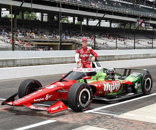 Hy-Vee Indy 500 Sponsorship Backs Ferrucci and Rahal