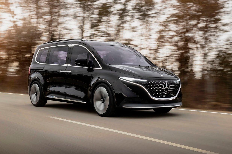 Mercedes Makes Minivans Desirable with the Concept EQT