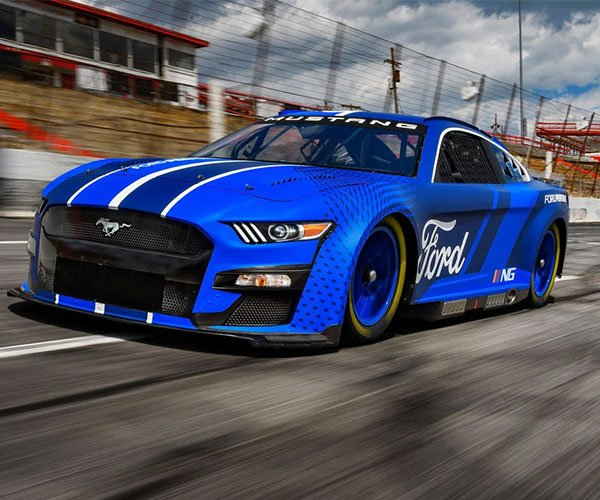 Ford Reveals 2022 Next Gen Mustang for NASCAR Cup Series