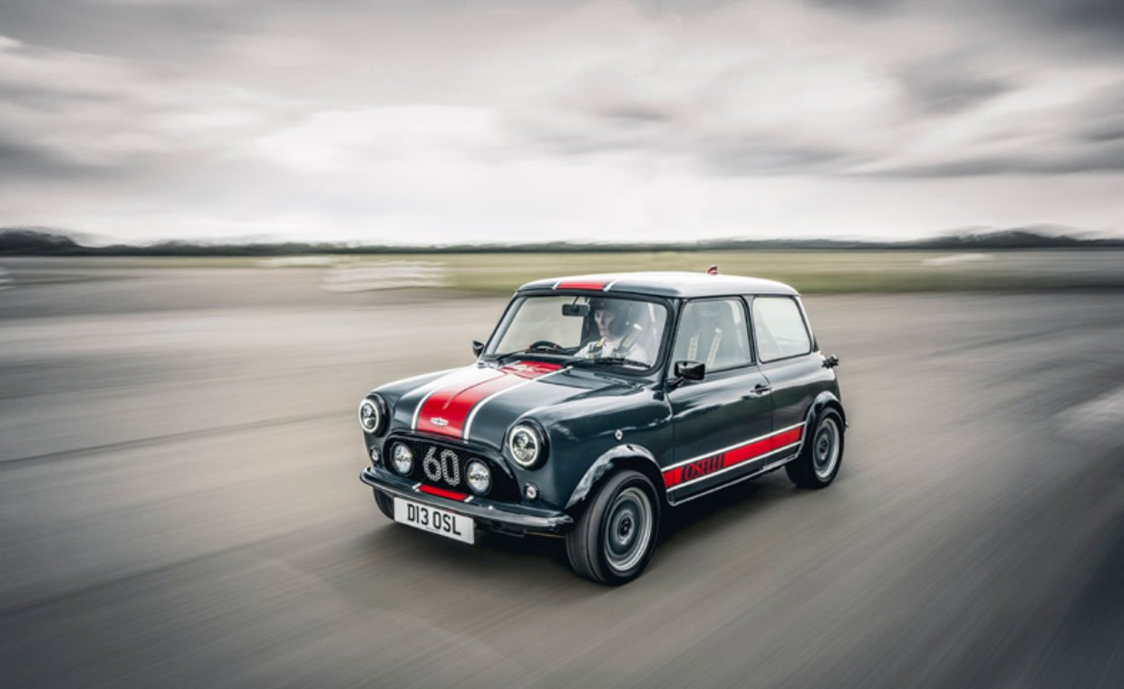 Beautifully Restored Mini Oselli Edition is Ready for the Track or Street