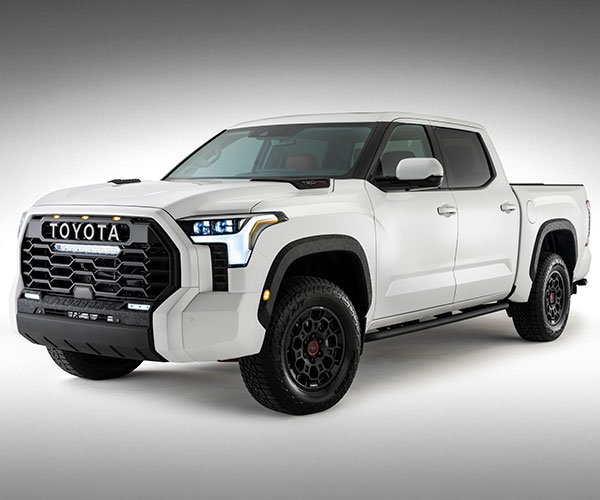 Toyota Reveals First Official Image of 2022 Tundra