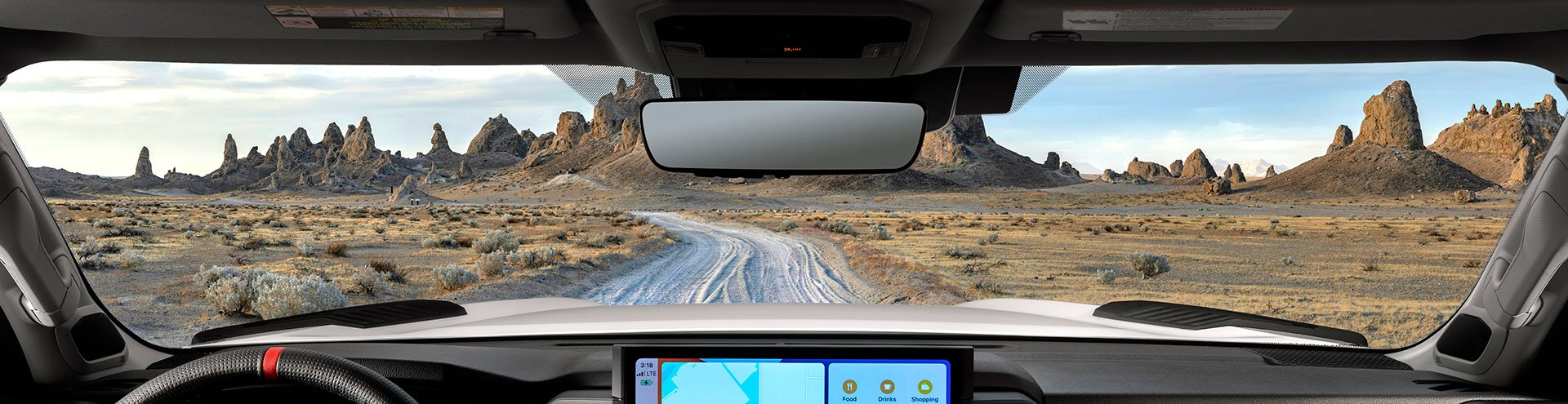 Toyota Teases 2022 Tundra Dashboard and View from the Cabin
