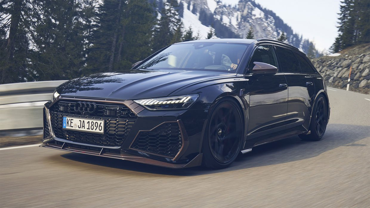 ABT Tunes the Audi RS6 to 789 Horsepower