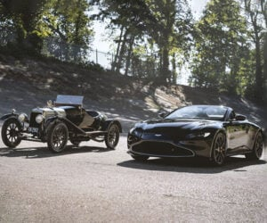 Q by Aston Martin A3 Vantage Roadster Tips its Hat to the Oldest Aston