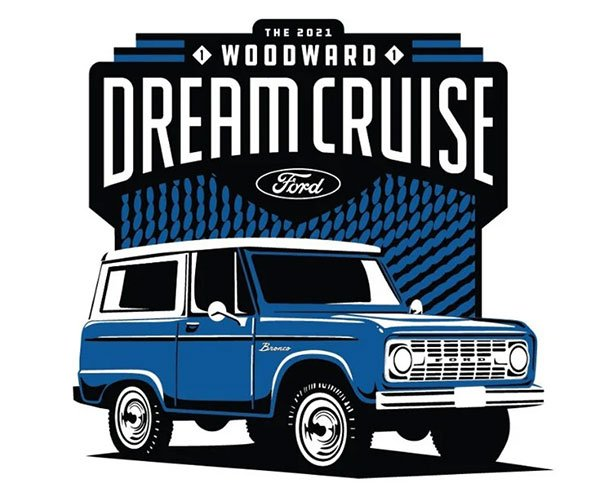 Ford Returns as Title Sponsor for the 2021 Woodward Dream Cruise