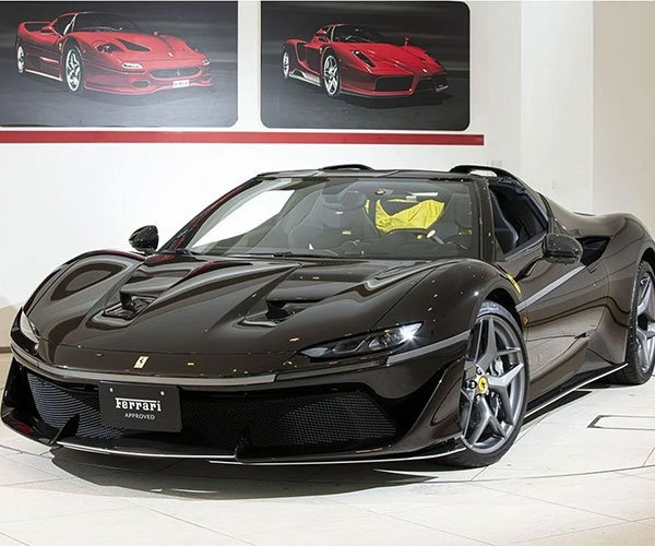 This Insanely Rare Ferrari J50 Can Be Yours for $3.6 Million