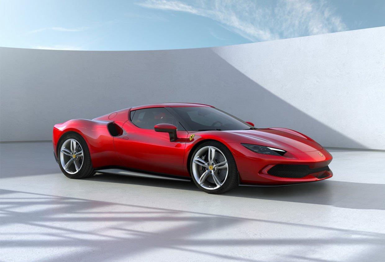Ferrari 296 GTB Features a Hybrid Turbo V6 and EV Mode